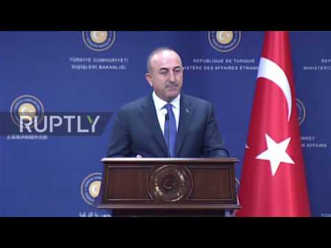 Turkey: Cavusoglu denounces the EU's 'hypocrisy' during Steinmeier press conference