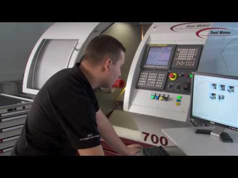 Seal Maker CNC Machine System: Seals production