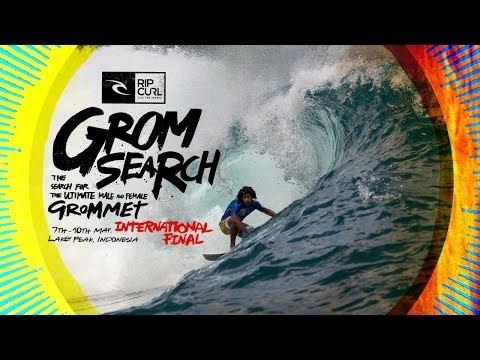 Rip Curl GromSearch International Final 2014 Highlights – Lakey Peak