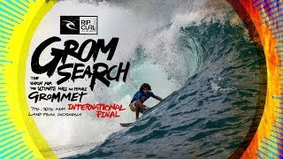 Rip Curl GromSearch International Final 2014 Highlights - Lakey Peak