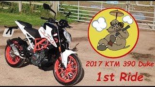 2017 KTM 390 Duke First Ride & First Impressions