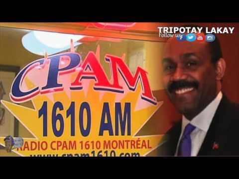 Stanley Lucas Repondait aux Questions de RADIO CPAM Montreal sur Mathieu et Haiti