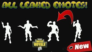 *NEW* ALL LEAKED EMOTES! PATCH V5.10 3D SHOWCASE | FORTNITE BATTLE ROYALE !