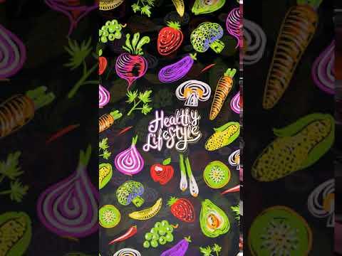 [Samsung Theme-Live Wallpaper]Healthy Food