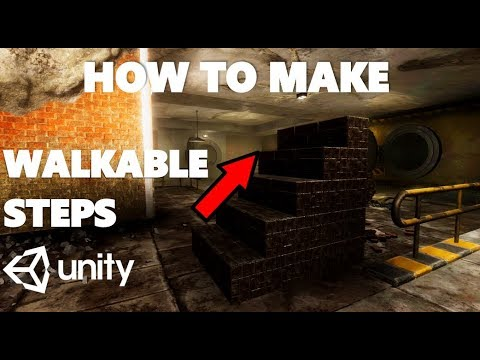 HOW TO CREATE WALKABLE STEPS IN UNITY TUTORIAL (SERIOUSLY) thumbnail