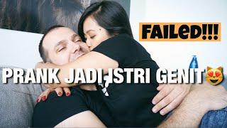 Download Lagu PRANK JADI ISTRI SUPER GENIT, Eh suami bule malah minta tiap hari di genitin🙈😜 mp3