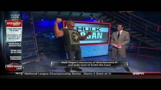 2011 HULK HOGAN sportscenter appearance