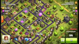 Clash of Clans - Replay Wednesday #1 - Clan Push (sorry I know its thursday)