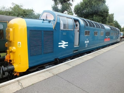 Cab Ride DELTIC 55019 At Epping And Ongar 16th Sept 2016 EOR