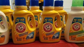 RITE AID Haul 5/7/17,  32 cents for Arm & Hammer