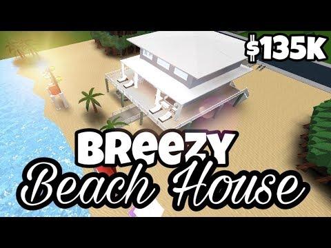 Breezy Beach House With Shark Infested Ocean 135k Bloxburg
