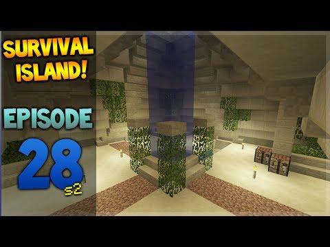 LIVE! Minecraft Xbox - Survival Island - Treasure Room! Episode 28