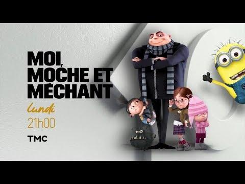TMC / MOI, MOCHE ET MÉCHANT (2010) avec les voix de GAD ELMALEH et JONATHAN COHEN (18 02 2019)