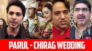 Parul Chauhan & Chirag Thakkar Wedding Celebration: Sachin Tyagi, Rajan Shahi, Rishi Dev & Samir