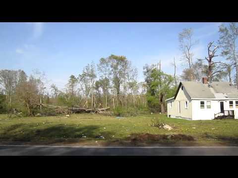 Tornado Damage James City County, VA 2