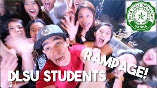 DLSU-D Students Gone Crazy! (IT WAS CHAOS)