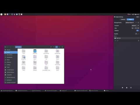 Budgie Desktop (10.2.4) In Ubuntu - A Quick Look