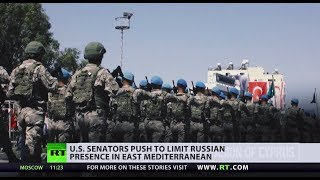 Muscle in the Med: US senators push to limit Russian presence in East Mediterranean