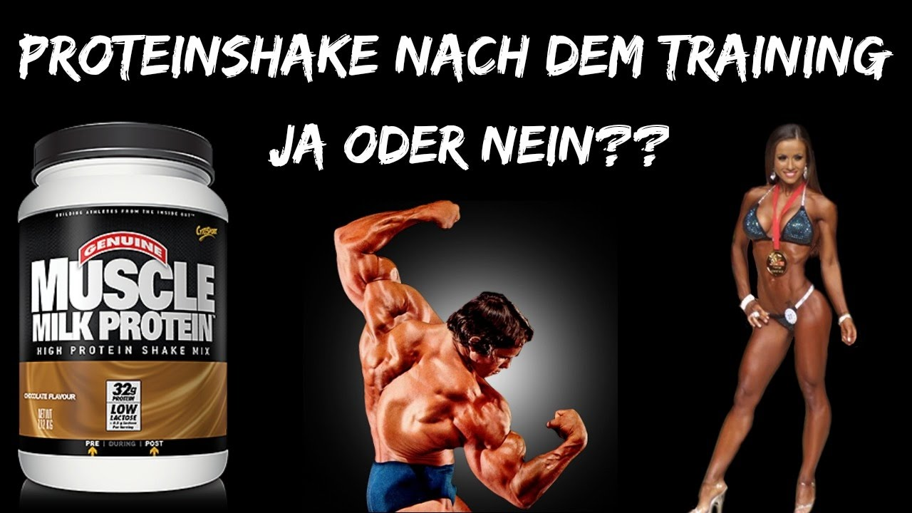 proteinshake vor oder nach dem training youtube. Black Bedroom Furniture Sets. Home Design Ideas