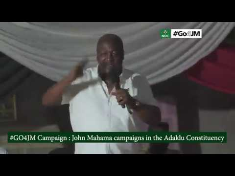 We'll match NPP boot for boot in 2020 – Mahama