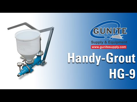 Grout Pump, Grouting Pump, Grout Pumps, Handy Grout Model HG-9 Grout Pump