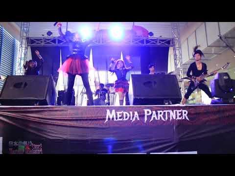 Kawaii Metal with Band - YAVA !! at Konsolidasi Nasional BabyMetal fans indonesia 05082017