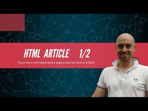 HTML Article 1/2