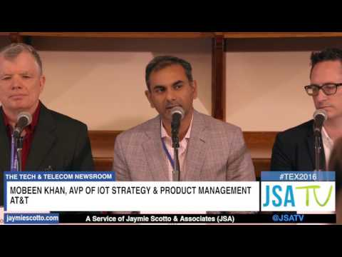 TEX NYC 2016: CEO Roundtable #1 Arrival of IoT: 5G, Connected Devices, Data Volume & Opportunities