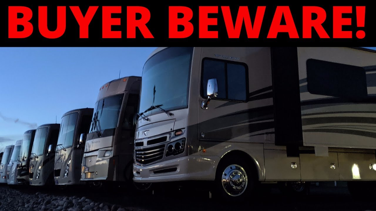 LARGE RV DEALERSHIP RIPPING CUSTOMERS OFF!