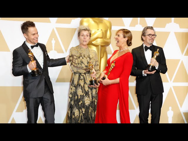 Seven must-see moments from the Oscars 2018