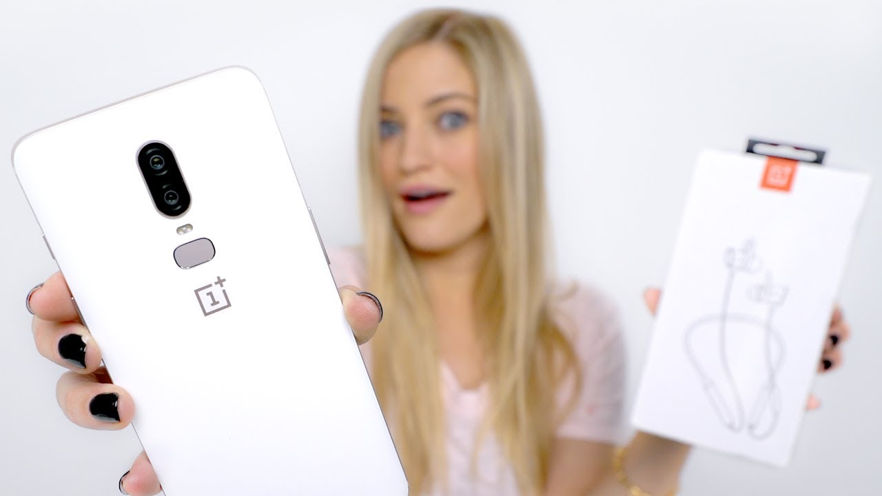 OnePlus 6 Silk White Unboxing!