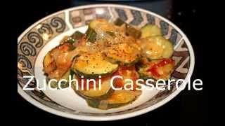 Delicious Cheesy Zucchini Casserole & Pot Luck Collaboration