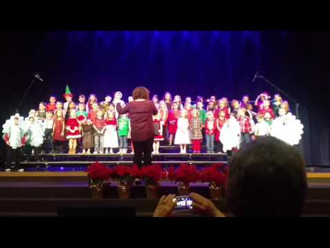 "Learning Lodge Academy 2016 Winter Concert- K/1st grade-""Jolly Old Saint Nicholas"""