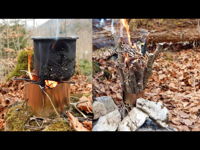UL Windshield as Bushcraft Stove?