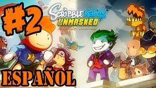 Scribblenauts Unmasked Gameplay - Español Review Lets Play Pc - Parte 2