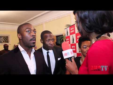 2HBTV at BEFFTA AWARDS 2012 Red Carpet with David Ajala