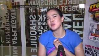 Alice Norin Rajin Nge-gym untuk Memperbesar Tubuh