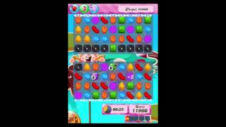 Candy Crush Saga Level 134 Walkthrough