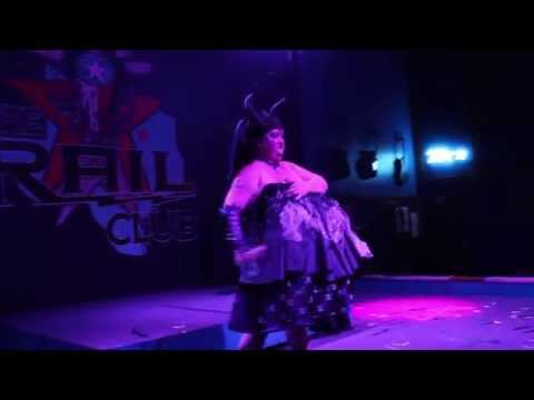 "Devil Dolls Presents Wicked Leigh Divine in her Routine ""Maleficent"""