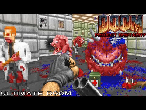 PROJECT BRUTALITY, a Brutal Doom Mod Gameplay #2 by Martinoz