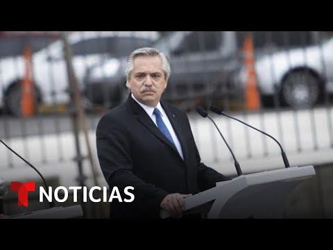El presidente argentino pide disculpas por dichos racistas   Noticias Telemundo