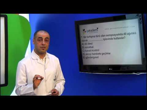 10.Sınıf Dil Ve Anlatım Görüntülü Eğitim Seti (Soru Çözümleri)