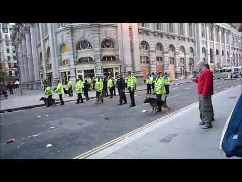 London Met Police Tribute - Raw Footage