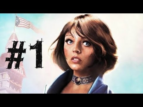 Bioshock Infinite Gameplay Walkthrough Part 1 - Intro - Chapter 1