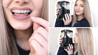 FLOSSING WITH BRACES | Benefits of Using a Water Flosser