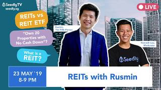 SeedlyTV EP05: Beginner's Guide To REITs (with Rusmin from The Fifth Person)