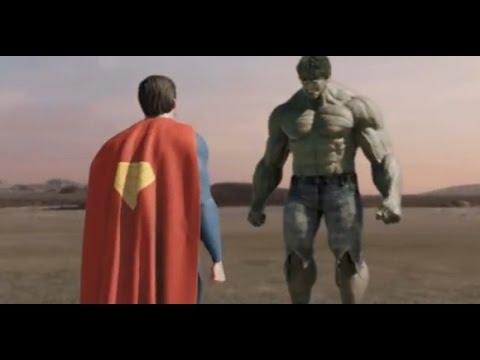 Супермен против Халка. Часть 1