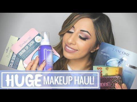 HUGE Makeup Haul | Gen Beauty LA 2018 | Lash Bosses