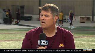 BTN Bus Tour: OC Kirk Ciarrocca | Minnesota | Big Ten Football