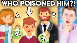 Can You Solve These INSANE Riddles!? (GAME)